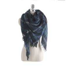 Salybaby New Color Imitation Cashmere Scarf Plaid Scarf -