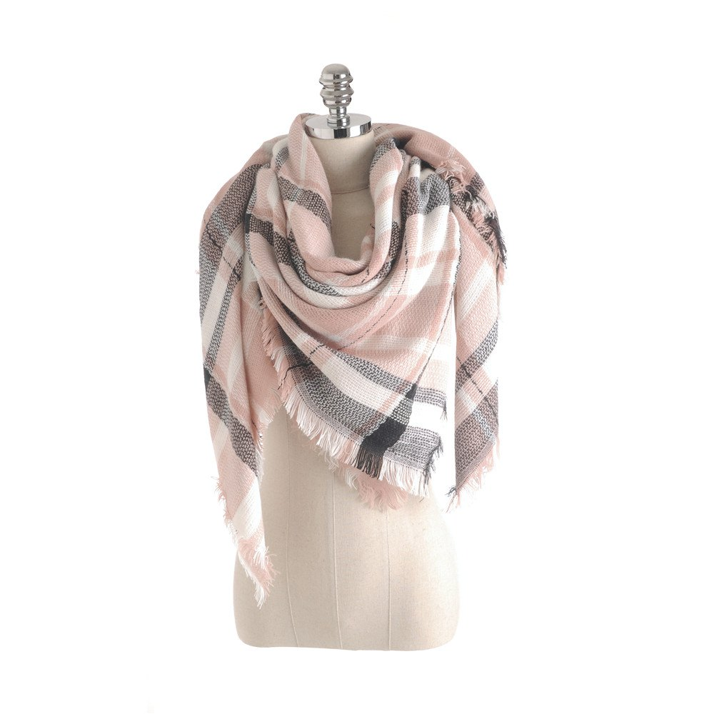 Fashion Salybaby New Color Imitation Cashmere Scarf Plaid Scarf