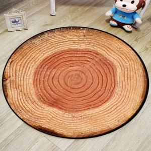 Bedroom Floor Mat Vintage Tree Annual Ring Pattern Soft Home Doormat2 -