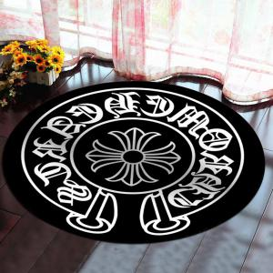 Decorative Rug Round Shaped Design Antiskid Soft Home Mat5 -