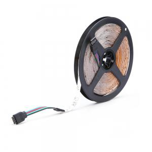HML 5M Water-proof 24W RGB 2835 SMD 300 LEDs Strip Light with 24 Keys Remote Control and US Adapter -