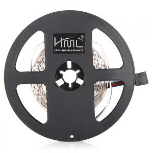 HML 5M 24W RGB 2835 SMD 300 LED Strip Light with IR 24 Keys Remote Control+ US Adapter -