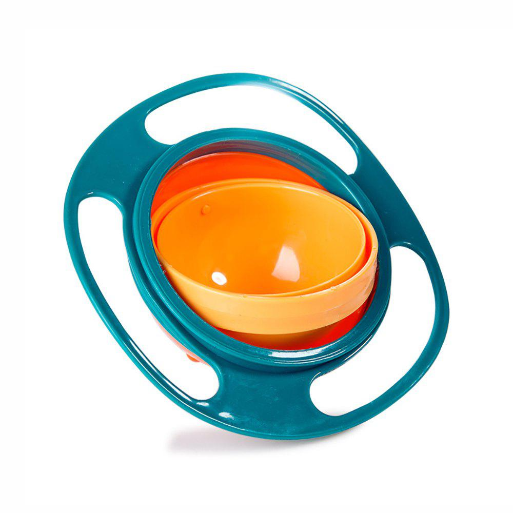 Fashion Children Bowl 360 Degree Rotation Balanced Baby Bowls