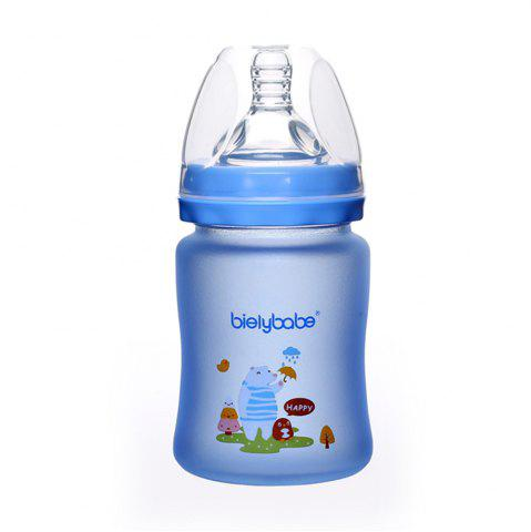 Buy Wide-caliber flexible protective glass bottle MY0045-150-blue