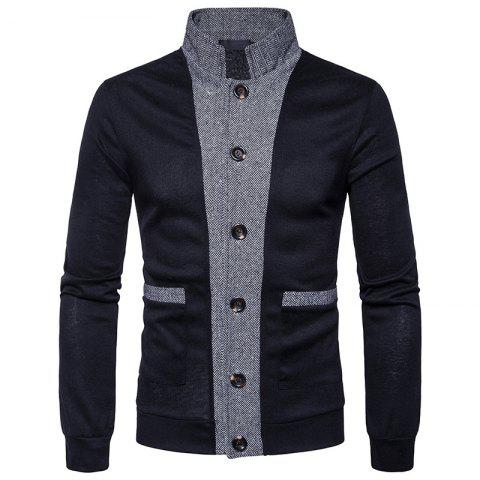 Outfit New Winter Men'S Classic Hit Color Front Cardigan Coat
