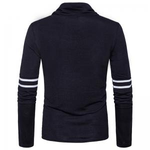New Winter Men'S Slim Knit Sweater All-Match Turtleneck -