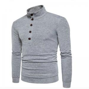 New Winter Men'S Fashion Personality Color Coat Sweater Slim Collar -