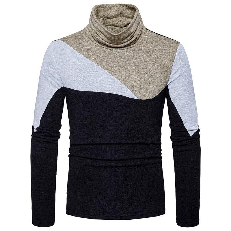 Discount New Men'S Fashion and Leisure Long Sleeved Long Knit Sweater MJ25