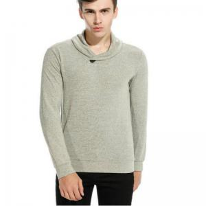 New Men'S Fashion Color Turtleneck Jacket Sweater MJ45 -
