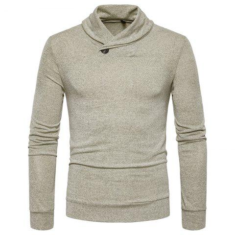 New New Men'S Fashion Color Turtleneck Jacket Sweater MJ45
