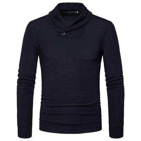 Shops New Men'S Fashion Color Turtleneck Jacket Sweater MJ45