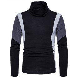 New Men'S Casual Fashion Color Slim Warm Sweater MJ27 -