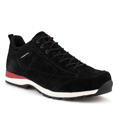 Buy HUMTTO Men Trekking Shoes Breathable Sneakers Leather Walking Shoes