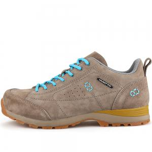 HUMTTO Women Trekking Shoes Breathable Sneakers Leather Walking Shoes -