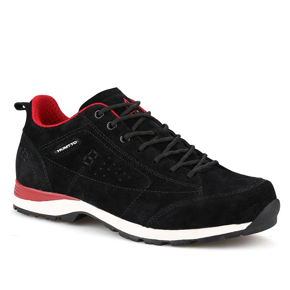 Chic HUMTTO Women Trekking Shoes Breathable Sneakers Leather Walking Shoes