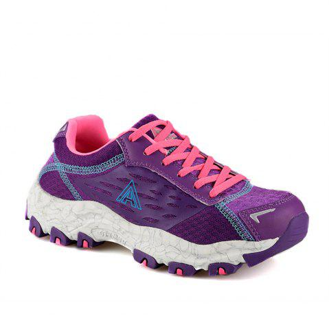 Trendy HUMTTO Women's Walking Shoes Lightweight Breathable Trekking Shoes