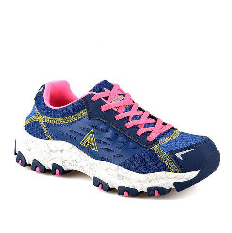 Sale HUMTTO Women's Walking Shoes Lightweight Breathable Trekking Shoes
