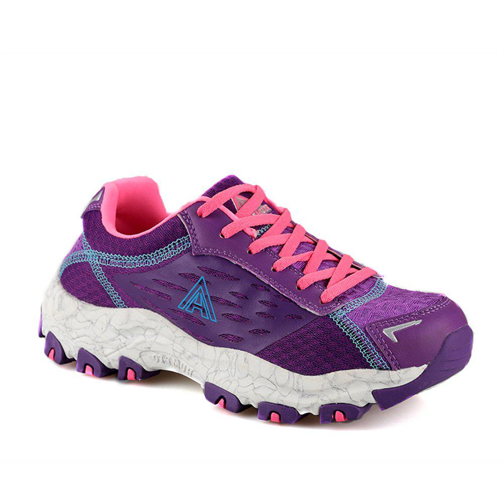 Unique HUMTTO Women's Walking Shoes Lightweight Breathable Trekking Shoes