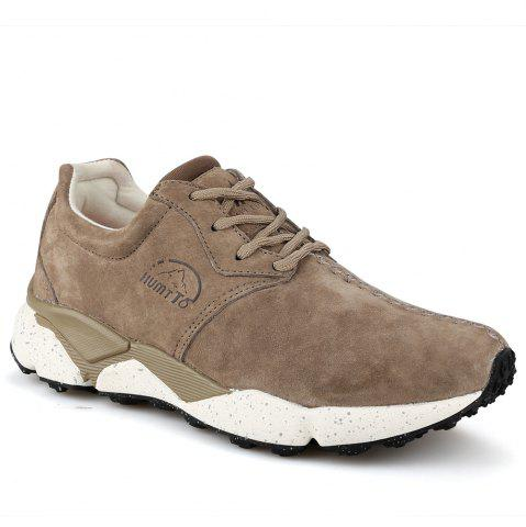 Shops HUMTTO Women Running Shoes Cushioning Light Leather Breathable Sneakers