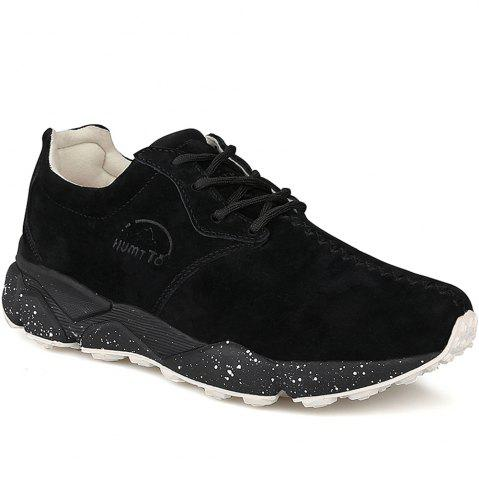 Discount HUMTTO Women Running Shoes Cushioning Light Leather Breathable Sneakers
