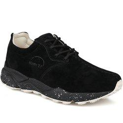 HUMTTO Women Running Shoes Cushioning Light Leather Breathable Sneakers -