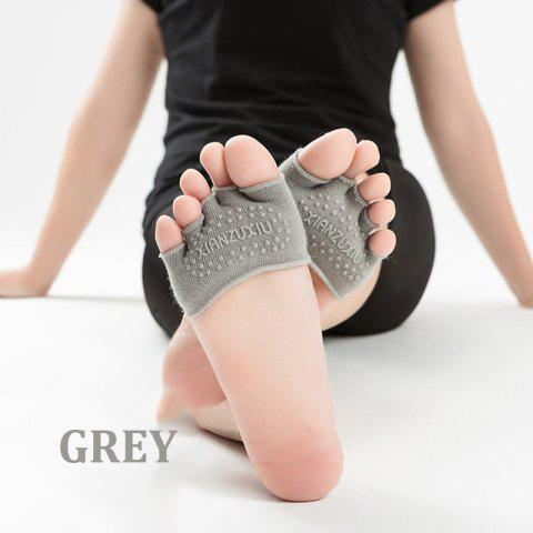 New Women's cotton breathable non-slip Half palm yoga socks cotton YOGA deodorant wings socks ciclismo female pattern 5 color