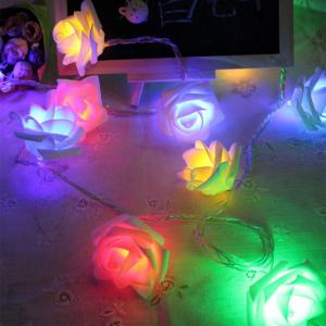 BRELONG LED Rose String Lights Holiday party Christmas decoration lights 1m10LED -