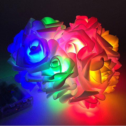 Outfits BRELONG LED Rose String Lights Holiday party Christmas decoration lights 20LED
