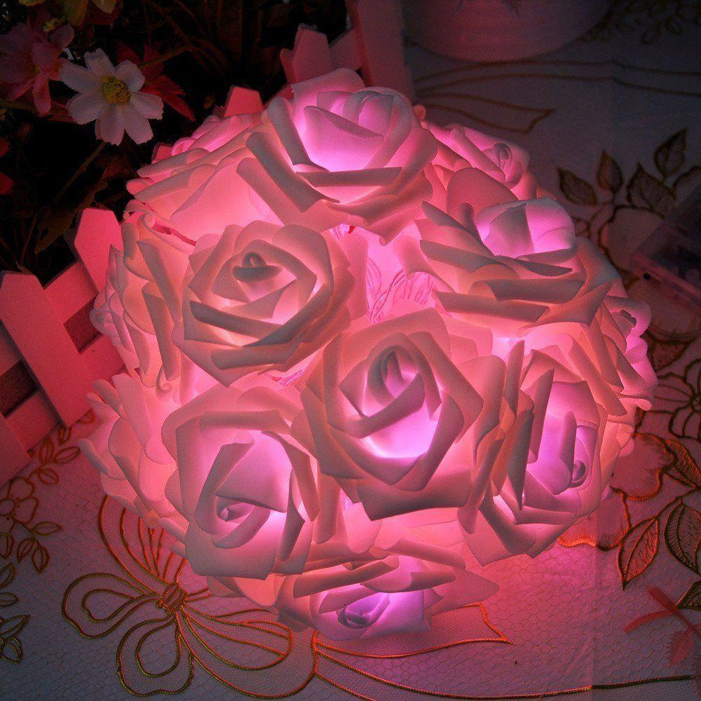 Affordable BRELONG LED Rose  String Lights Holiday party Christmas decoration lights 20LED