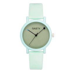 GAIETY G480 Women Casual Leather Band Analog Quartz Wrist Watch -