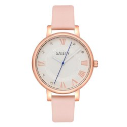 GAIETY G481 Ladies Fashion Leather Quartz Watch -