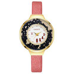 GAIETY G482 Ladies Quicksand Fashion Quartz Watch -