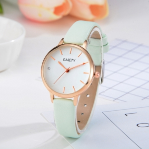 GAIETY G487 Ladies Fashion Candy Color Watch -