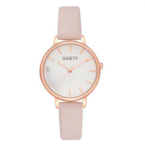 Shop GAIETY G487 Ladies Fashion Candy Color Watch