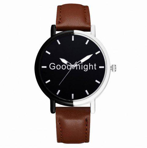 Latest GAIETY Women's Black Dial Two Tone Bezel Leather Band Quartz Watch G513