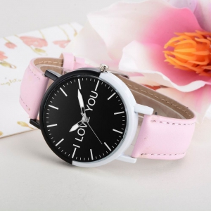 GAIETY Women's Two Tone Bezel Leather Strap Wrist Watches G505 -