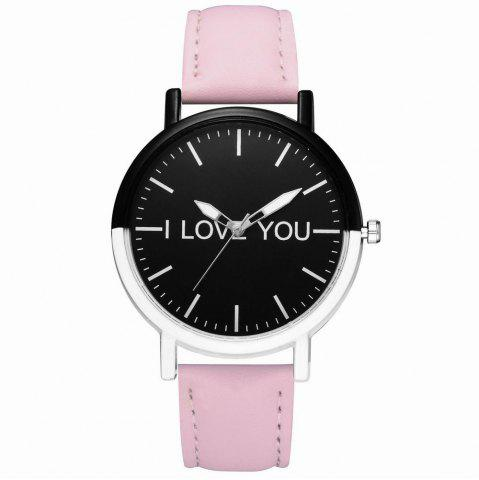 Outfit GAIETY Women's Two Tone Bezel Leather Strap Wrist Watches G505