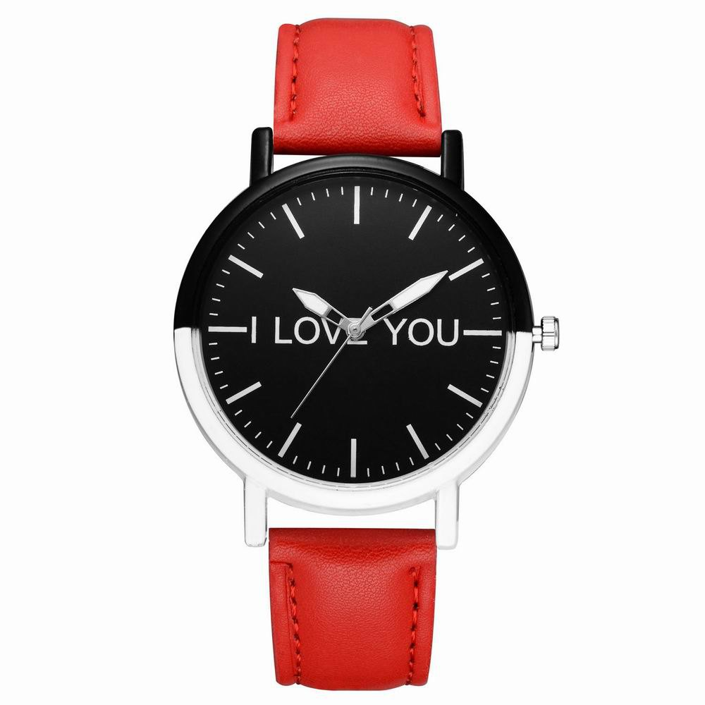 Trendy GAIETY Women's Two Tone Bezel Leather Strap Wrist Watches G505