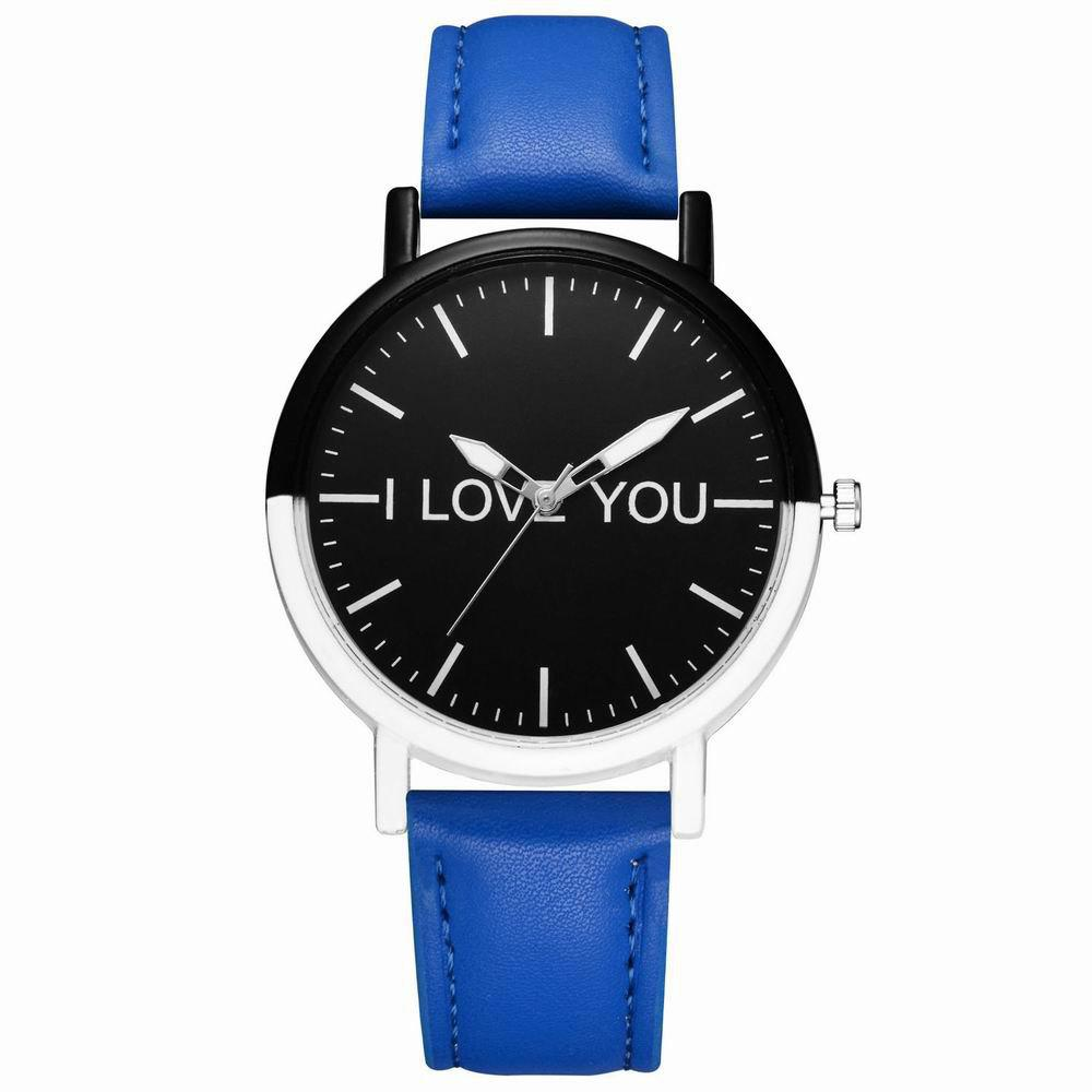 Sale GAIETY Women's Two Tone Bezel Leather Strap Wrist Watches G505