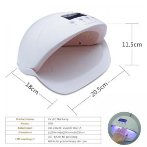 50W Gel Nail Lamp UV LED Dryer Curing Lamps Light Fingernail and Toenail -