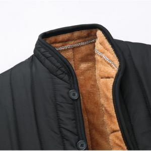 Men 's Plush Liner Large Size Warm And Comfortable Thick Cotton Jacket -