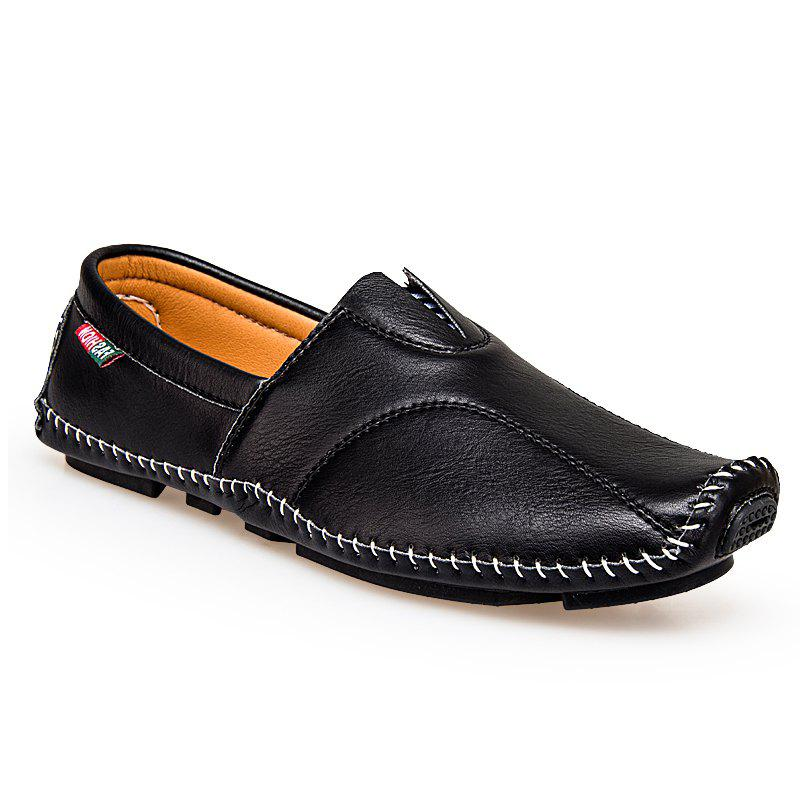 Best Big Size Men Leather Slip On Driving Moccasin Loafer Casual Comfortable Shoes