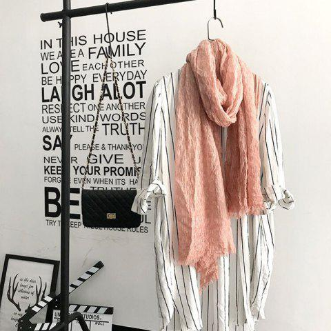 Fashion The Spring and Autumn New Europe Do Pure Cotton Towel Broken Edges Widened Beggar Scarf