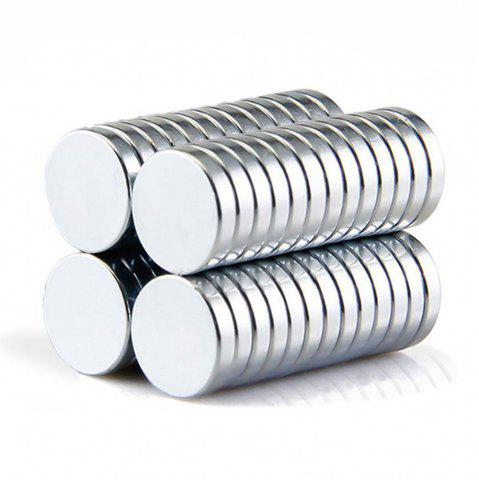 Outfit 35Pcs Refrigerator Magnets Premium Brushed Nickel Fridge Magnets, Office Magnets by - 10 x 2 mm