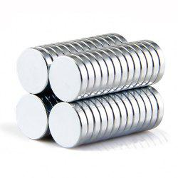 35Pcs Refrigerator Magnets Premium Brushed Nickel Fridge Magnets, Office Magnets by - 10 x 2 mm -