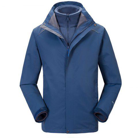 Shop Autumn and Winter Outdoor Jackets Thickened Mountaineering Suits and Three Sets of Windproof Warm Andes Men