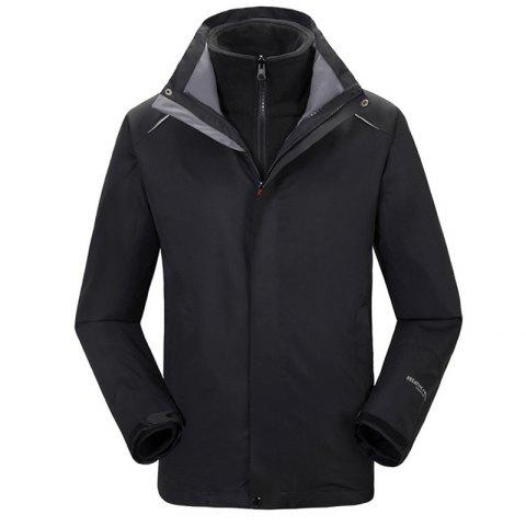 New Autumn and Winter Outdoor Jackets Thickened Mountaineering Suits and Three Sets of Windproof Warm Andes Men