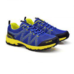 Summer New Casual Outdoor Shoes Men Wear Non-Slip Shoes Breathable Mesh Youth Wild Students Running Shoes -