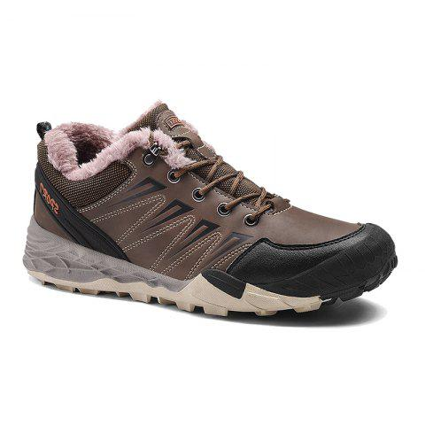 Outfits 2017 Winter New Large Size Outdoor Shoes Men'Non-Slip Hiking Shoes