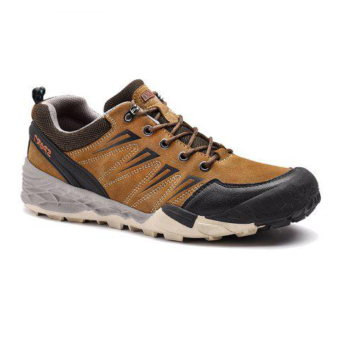 Buy 2017 Winter New Large Size Outdoor Shoes Men'Non-Slip Hiking Shoes